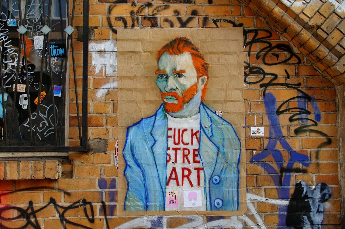 Van Gogh Street Art | Foto Ron Kirchner