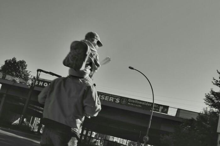 Auf den Schultern von Riesen Foto Ron Kirchner