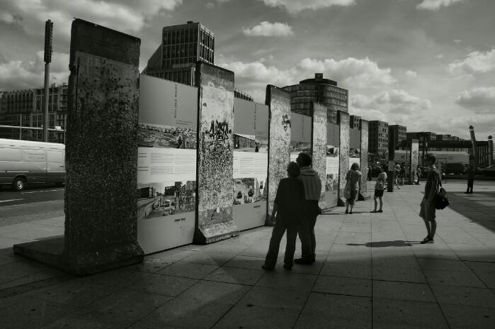 Berliner Mauer Foto Ron Kirchner