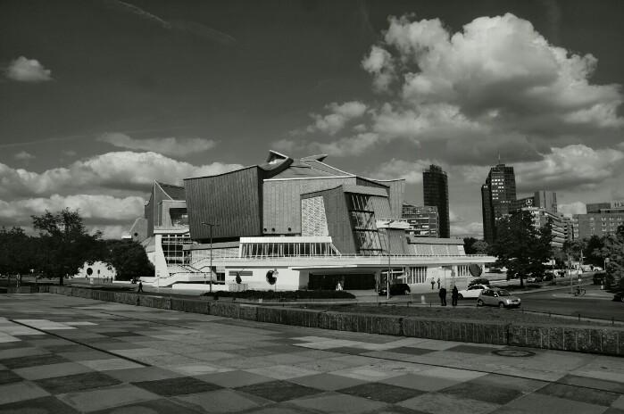 Berliner Philharmonie Foto Ron Kirchner