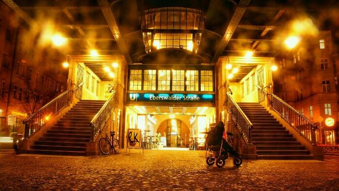 Eberswalder Straße Bahnhof Ron Kirchner Foto